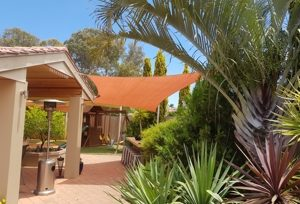 Shade Sails help protect you from the harsh Australian sun