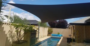 These high-quality Shade Sails help protect you from the harsh Australian sun